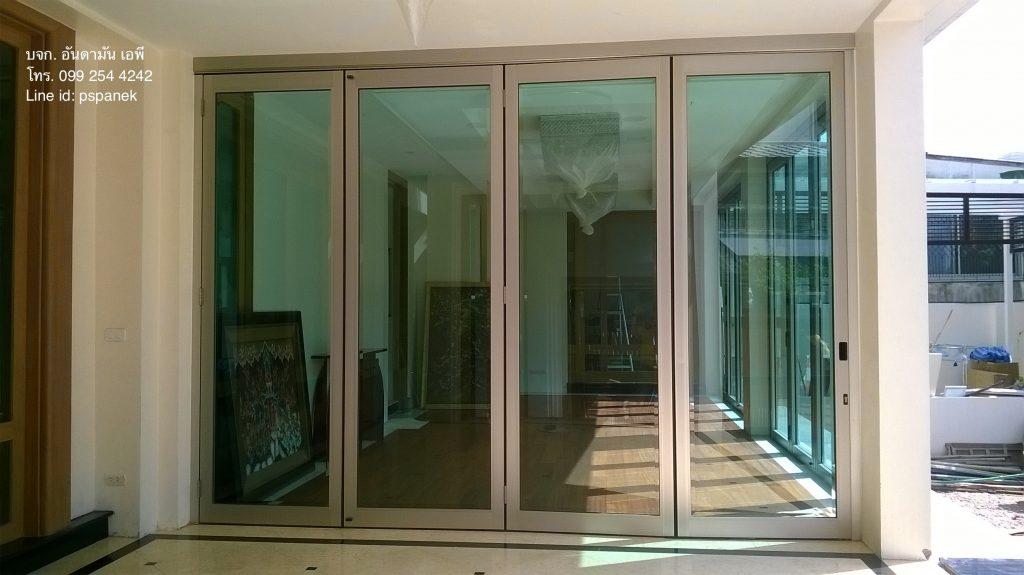 ykkap-foldingdoor ประตูบานเฟี้ยมykkap